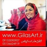 هنرکده صنایع دستی معرق مس گیلاس آرت