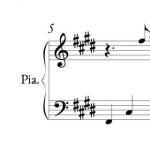 pianosheet
