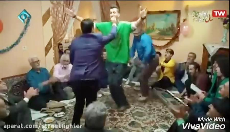 رقص ارسطو در سریال پایتخت که سانسور شد