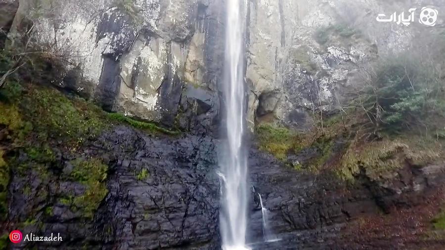 هلیشات طولانی ترین آبشار ایران-اینجا ایران است-قسمت هفت