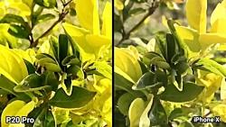 مقایسه دوربین آی فون ۱۰ با هوآوی P20 پرو