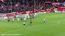 گل اول بارسلونا به سویا ( سویا 2 - 2 بارسلونا )