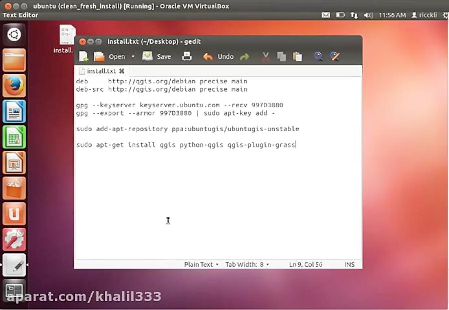 Qgis Ubuntu