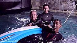 چالش حمله کوسه در آب یخ - Team Edge