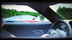 درگ مرسدس بنز SLS AMG و نیسان GTR
