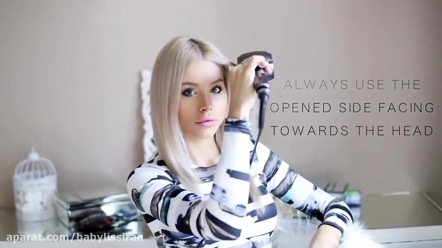 شیوه فر کردن موها به راحتی و بدون دردسر