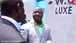 مراسم عجیب افتتاح توالت عمومی با حضور مقامات ! واقعی
