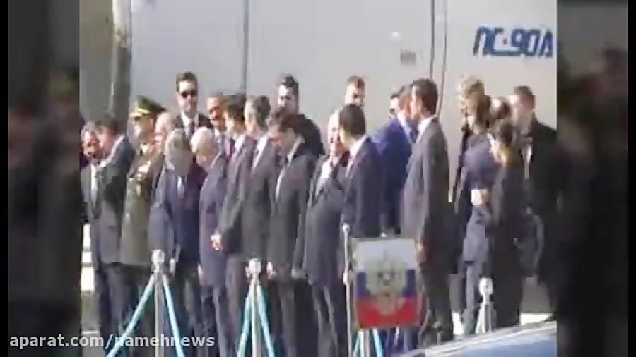 اسکورت پوتین در فرودگاه آنکارا
