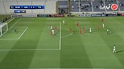 خلاصه بازی الاهلی عربستان 2-0 تراکتورسازی