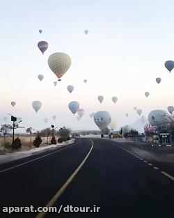 بالن سواری در کاپادوکیا ترکیه