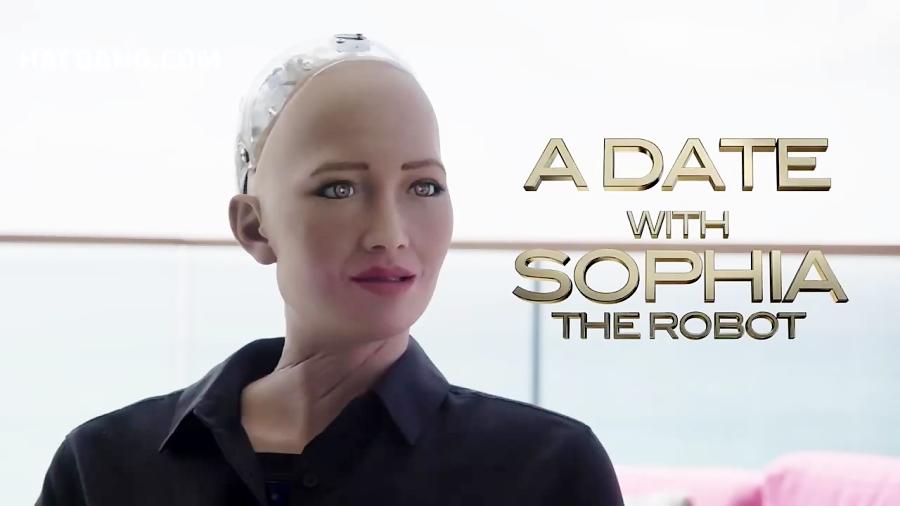وقتی ویل اسمیت با یک ربات قرار عاشقانه می گذارد!