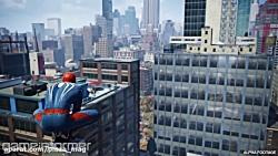 گیم پلی بازی مرد عنکبوتی و نمایش ابرقهرمان قرمزپوش
