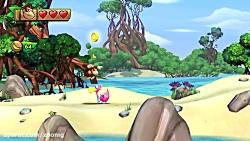 تریلر گیم پلی بازی Donkey Kong Country: Tropical Freeze