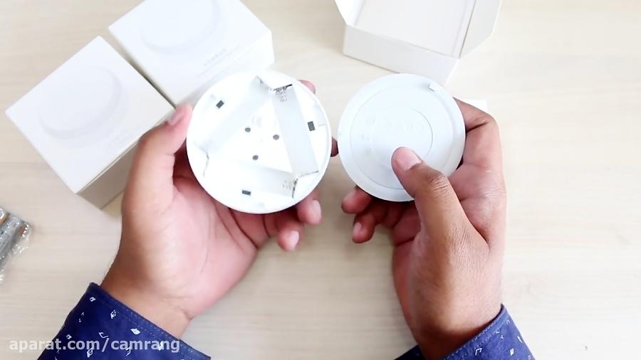 جعبه گشایی و بررسی چراغ با سنسور حرکتی شائومی