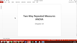 R - Two Way Repeated Measures ANOVA Lecture 3