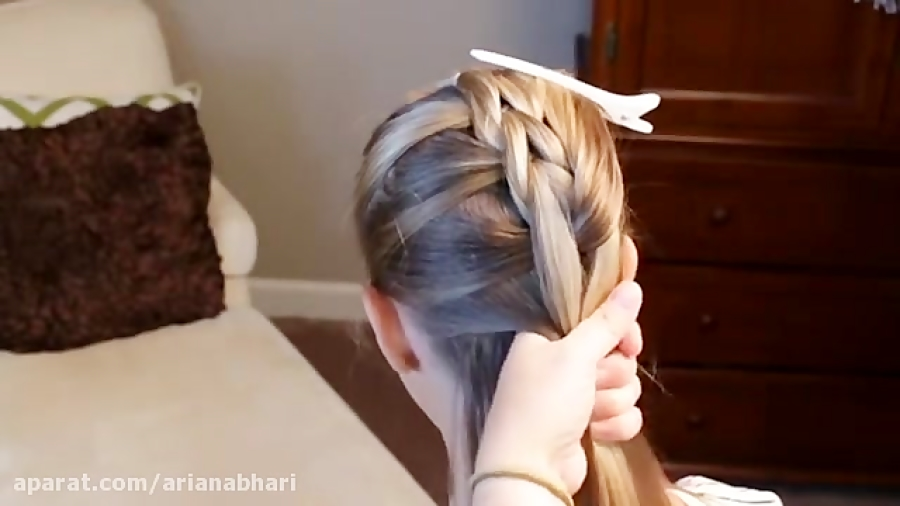 بافت مو دخترانه - مدل مو - بافت مو 2018