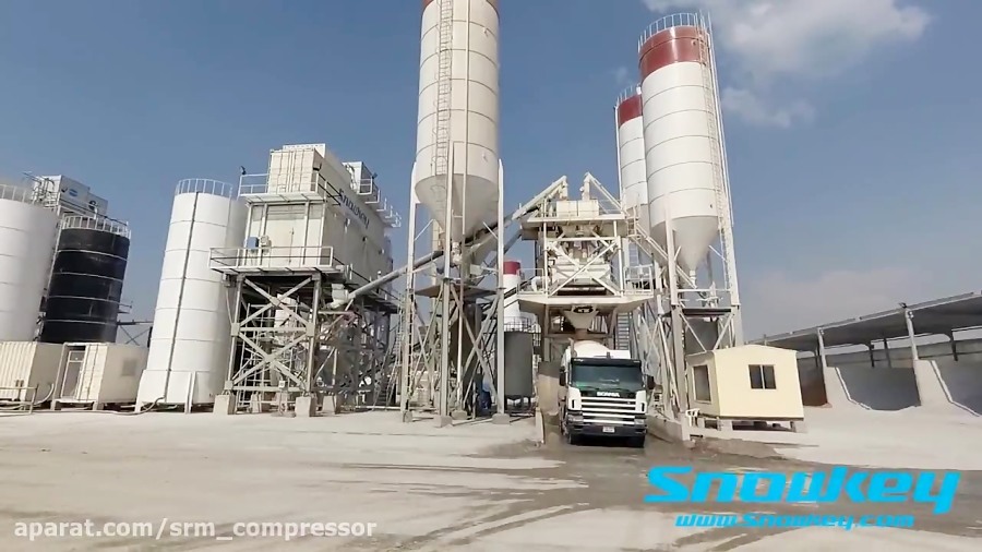 Snowkey Ice plant for concrete and fishery