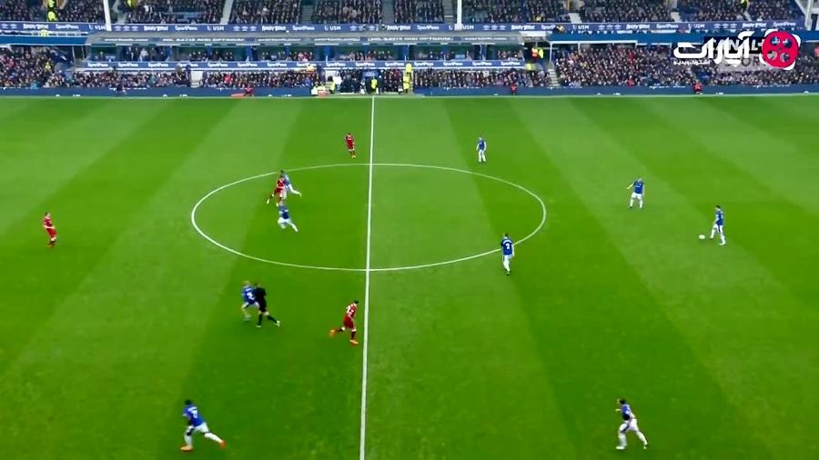 خلاصه بازی اورتون 0-0 لیورپول (HD)