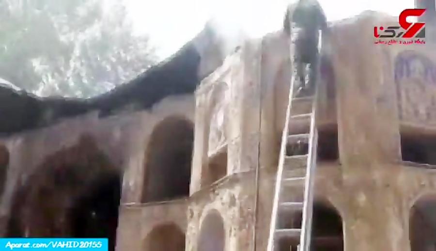 دستگیری عاملان آتش زدن کاخ چهلستون