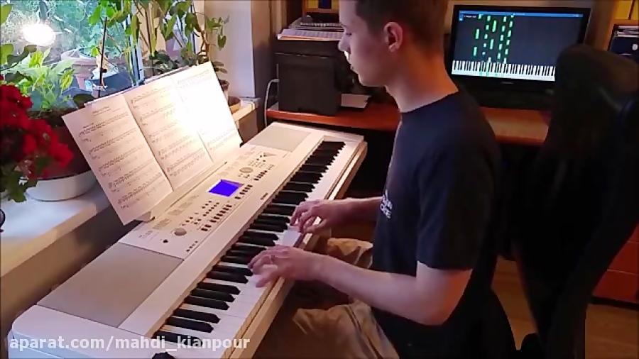آفتاب ( Sunshine ) آموزش پیانو