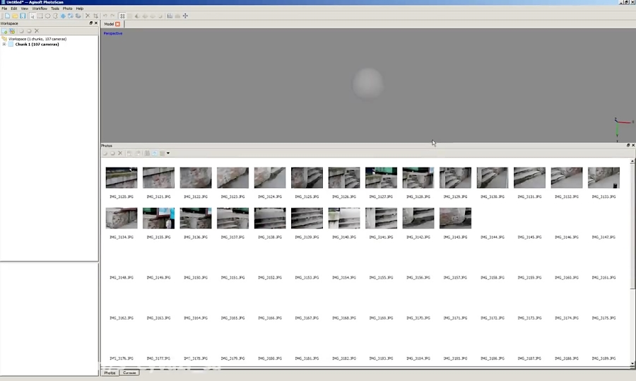 Agisoft Photoscan - Workflow - by Ivan Arsic