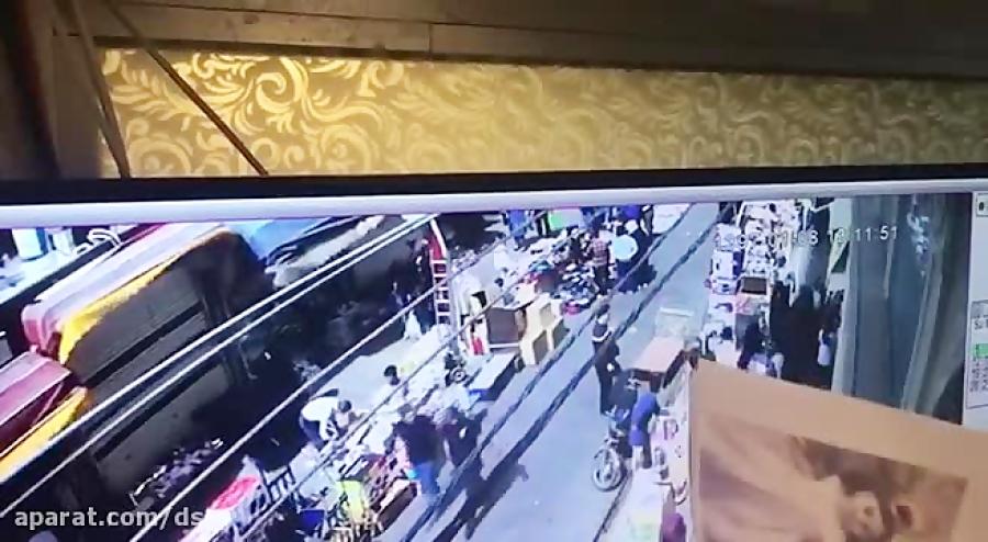 ربوده شدن دختر 4ساله_نجات نهال توسط دوربین مداربسته