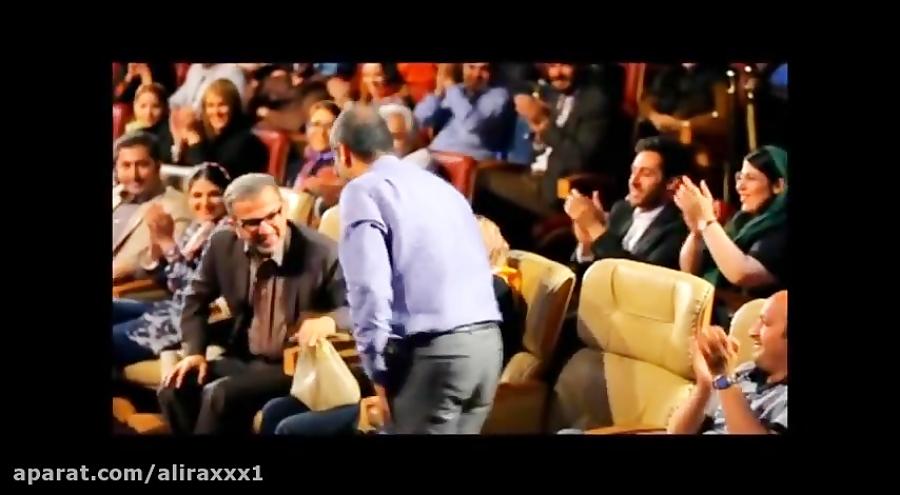 کانال تلگرام برنامه های برج میلاد حرکات جالب رامبد جوان در کنسرت خنده حسن ریوندی