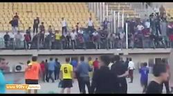 جنجال و درگیری در ورزشگاه اروند خرمشهر در لیگ دسته دوم (بخش دوم)