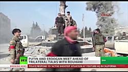 پوتین و اردوغان پیش از مذاکرات با روحانی ملاقات می کنند