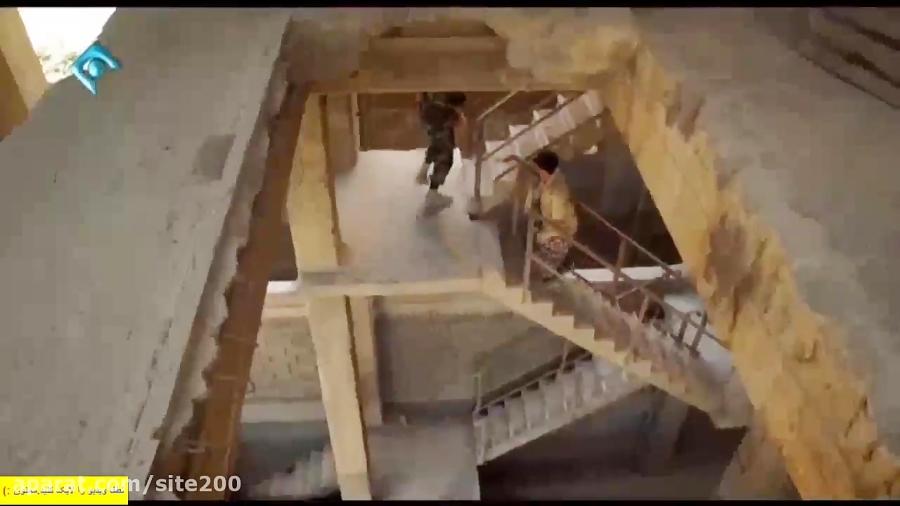 دعوا خنده دار رحمت و بهتاش و افتادن رحمت موقع حمله داعشی ها در پایتخت 5 قسمت 17