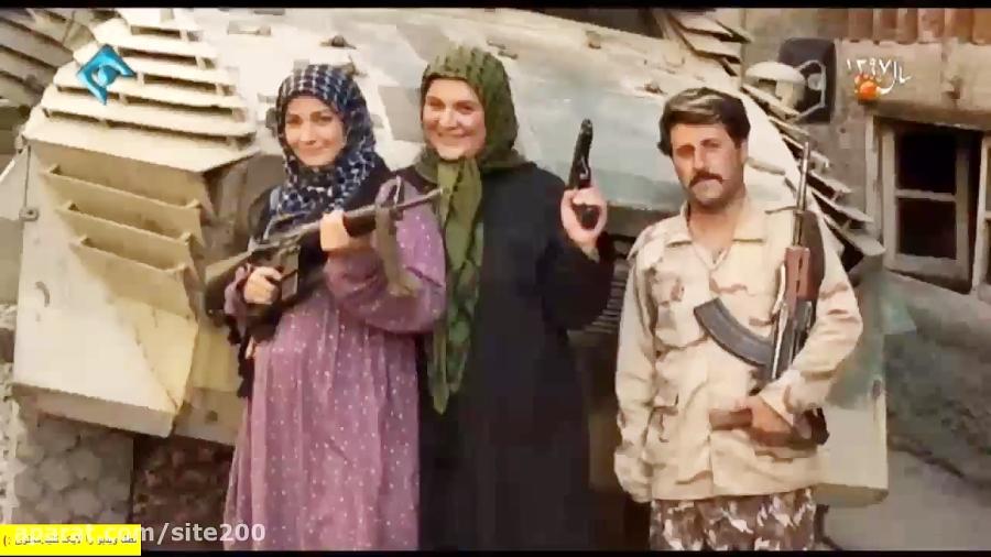 سلفی گرفتن خانواده نقی وسط داعشی ها در پایتخت 5 قسمت 17