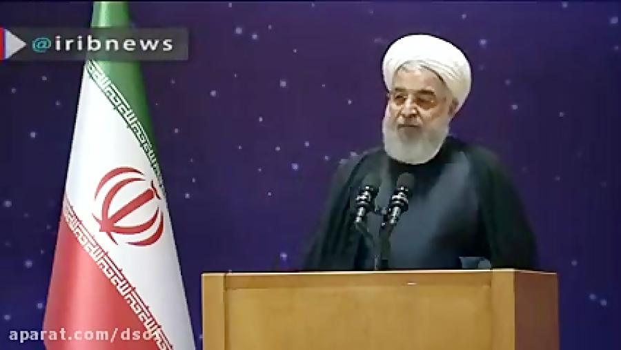 روحانی:دشمنان فکر می کنند ما برای مشکلات راه حل نداریم