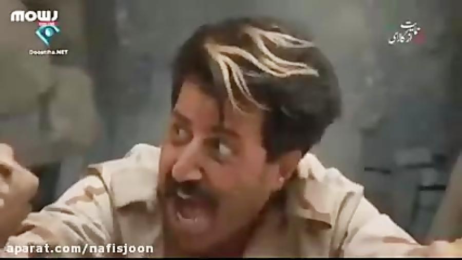 لحظه نجات یافتن «رحمت» از سقوط در سریال پایتخت ۵