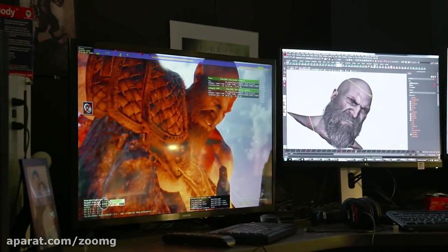 ویدیو پیشرفت شخصیت بازی در God of War - زومجی