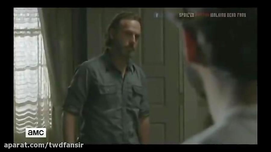 سکانس آغازین قسمت شانزدهم فصل هشتم سریال مردگان متحرک