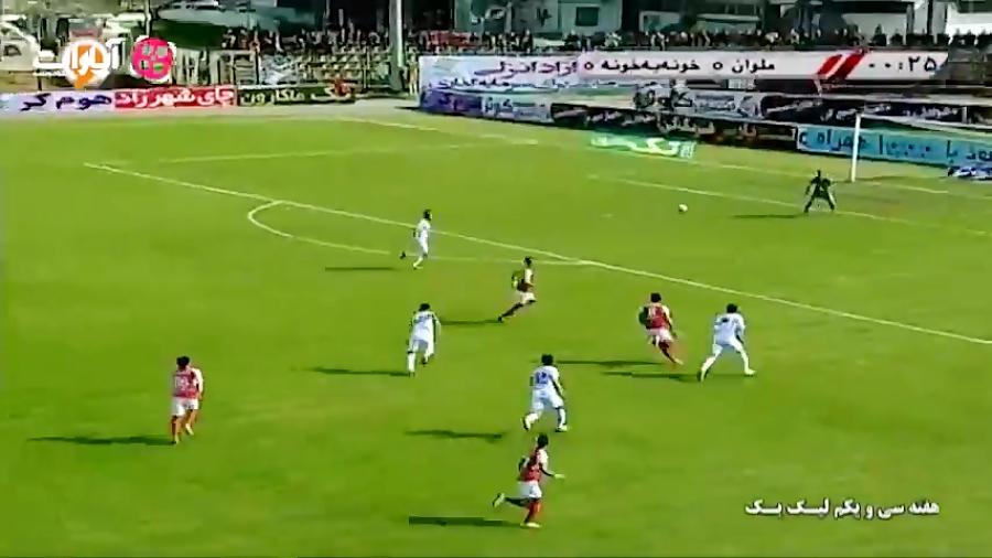 خلاصه بازی ملوان 1-0 خونه به خونه