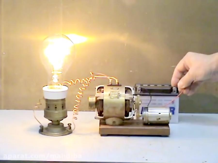 ساخت ژنراتور برق