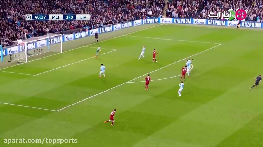 خلاصه بازی منچسترسیتی 1-2 لیورپول (HD)
