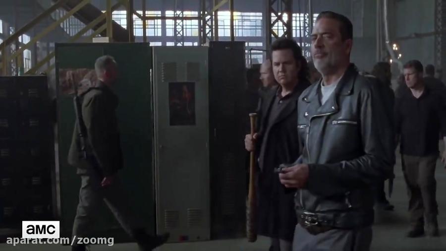 ویدیو قسمت 16 فصل هشتم سریال The Walking Dead - زومجی