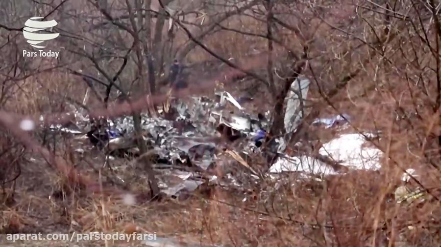 کشته شدن 6 نفر در سقوط بالگرد در روسیه