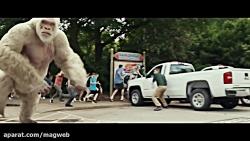 بررسی فیلم Rampage 2018