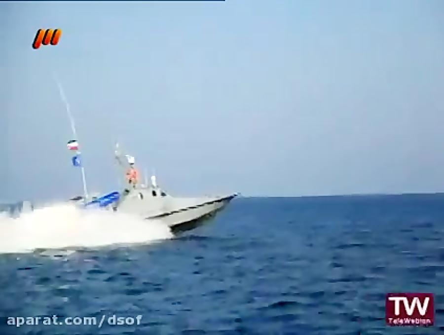 خط تولید و شلیک موشک ضد کشتی نصر از قایق تندرو ذوالفقار