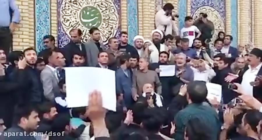 شعار مرگ بر انگلیس مردم طرفداران احمدی نژاد