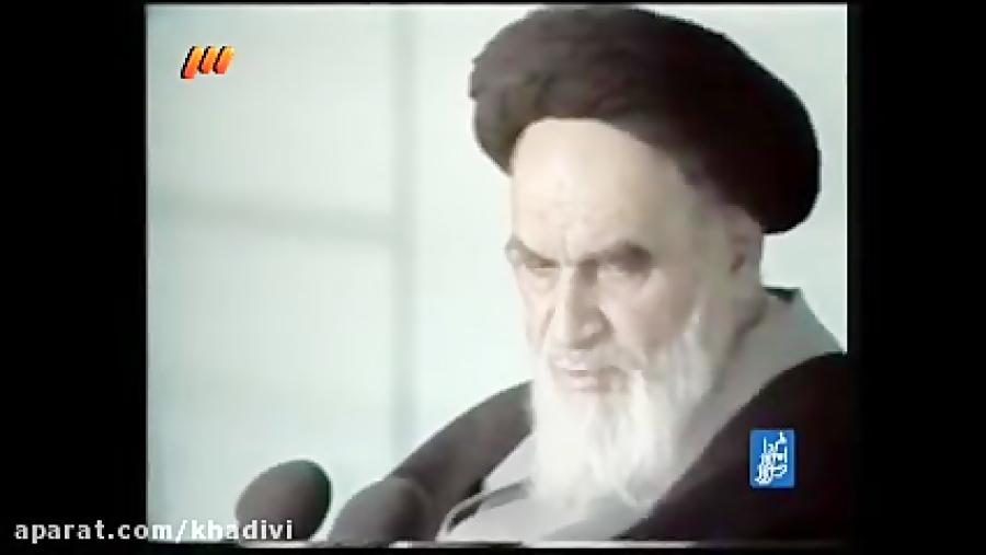 امام خمینی درمورد رهبر آقای خامنه ای