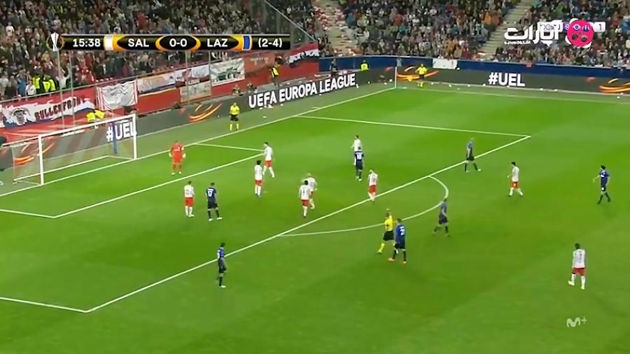 خلاصه بازی سالزبورگ 4-1 لاتزیو