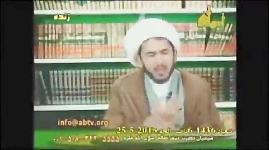 این همان اسلام آمریکایی است ..حسن اللهیاری :امام زمان نامه ای نوشت و گفت من وکی