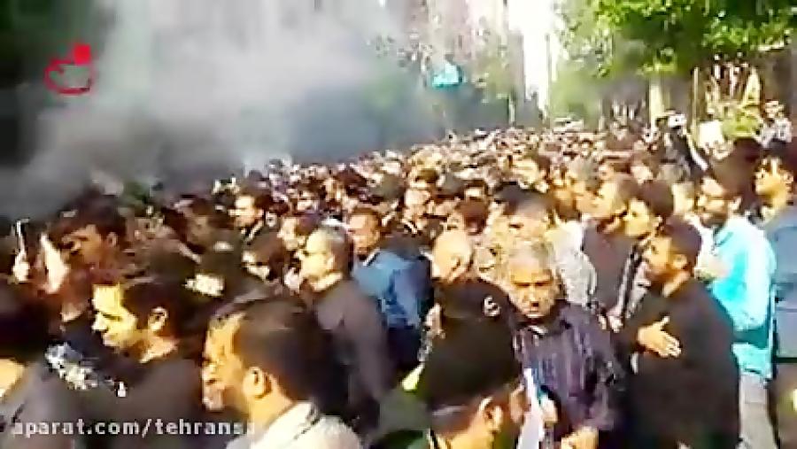 مراسم تشییع شهید مدافع حرم حامد رضایی در تهرانسر - 2