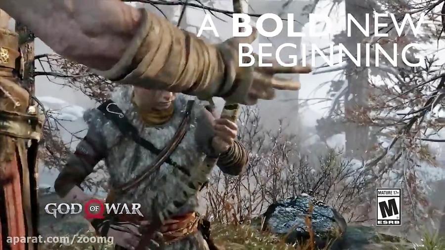 تیزر کوتاه بازی God of War - زومجی
