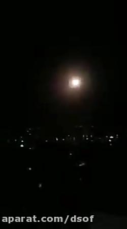 سامانه های پدافند هوایی سوریه برای مقابله با موشک ها