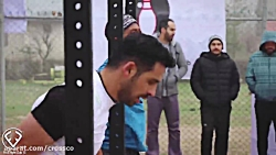 مسابقه ی کراس فیت ایران...